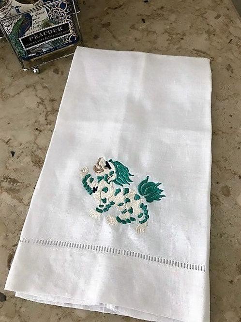 Foo Dog Towel