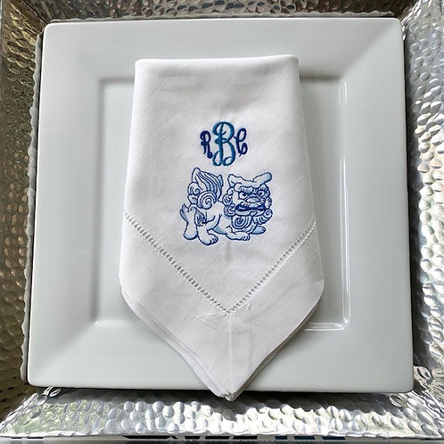 Foo Lion Dinner Napkin