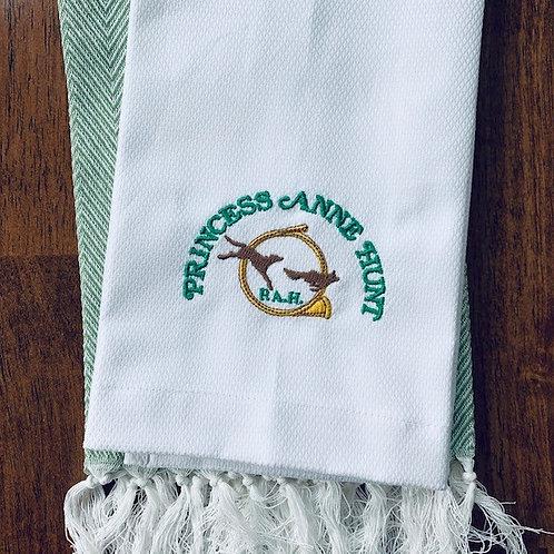 Princess Ann Hunt Cotton Pique Guest Towel