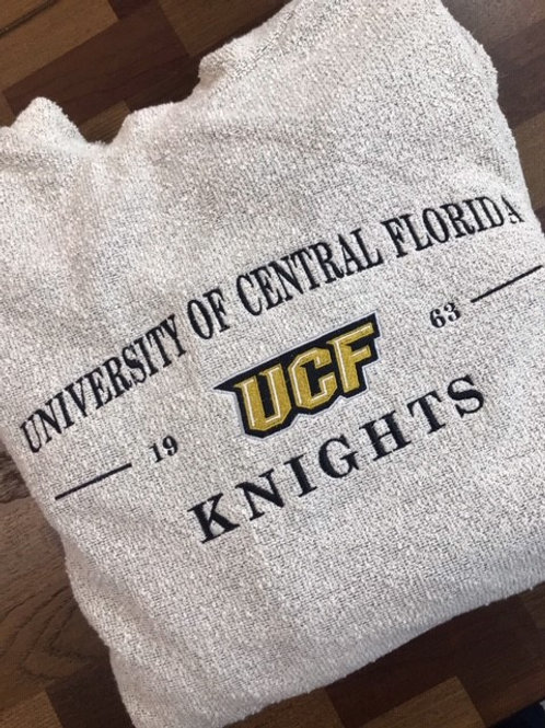 University of Central Florida Woolly Threads Natural Pullover