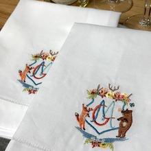 Wedding Napkin Detail