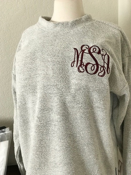 Monogrammed Woolly Threads Pullover