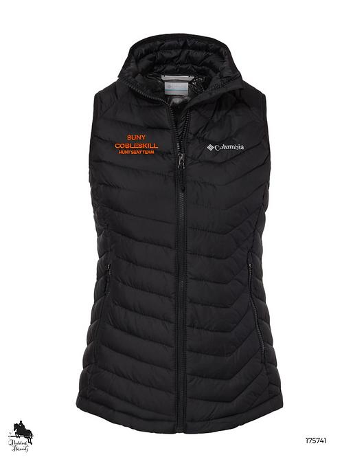 SUNY Cobleskill Hunt Seat Team Ladies Columbia Powder Lite Vest
