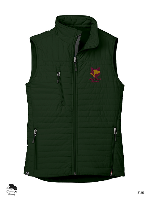 Briar Creek Hounds Women's Eco-Insulated Quilted Vest