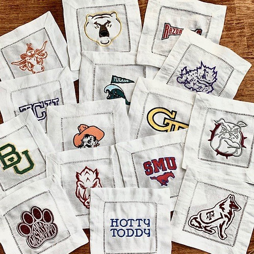 Game Day Spirit Collegiate Cocktail Napkins