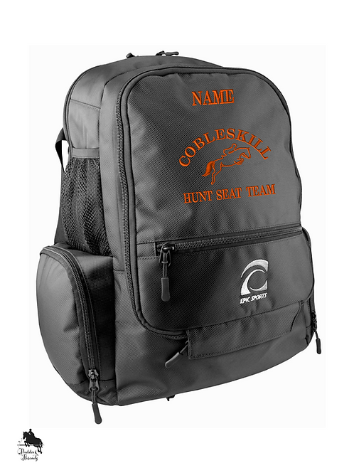 SUNY Cobleskill Hunt Seat Team Backpack