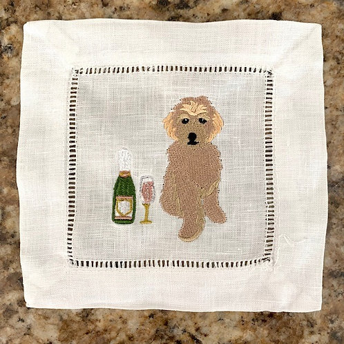 Celebration Golden Doodle Cocktail Napkins