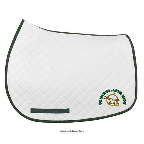 PAH Tuffrider Basic All Purpose Saddle Pad with Trim