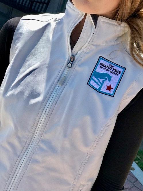 Grand Prix of Fort Worth Ladies White Softshell Vest