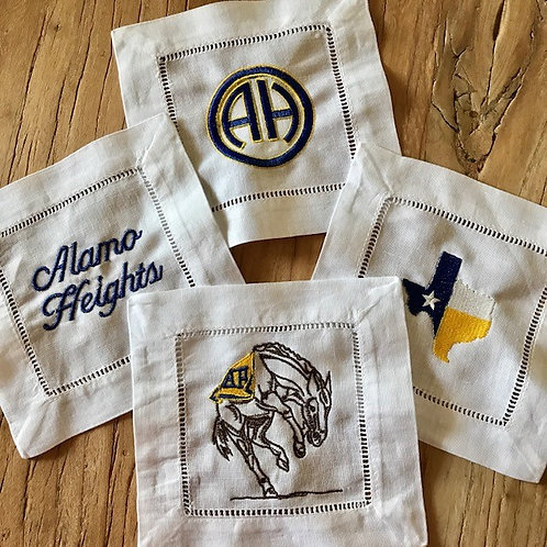 Mule Spirit - Alamo Heights Cocktail Napkin Set