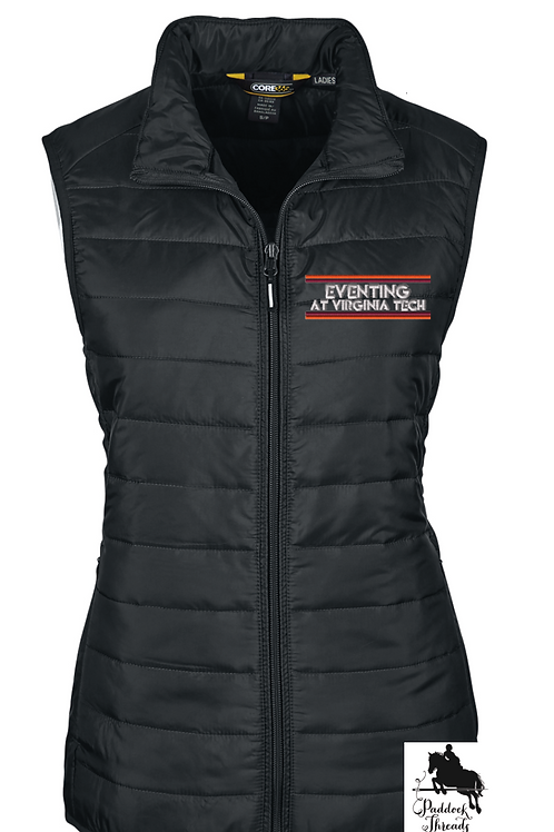 Eventing at Virginia Tech Ladies' Puffy Logo Vest