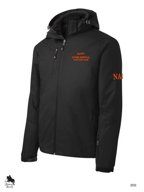 SUNY Cobleskill Hunt Seat Team Men's Vortex Waterproof 3-in-1 Jacket