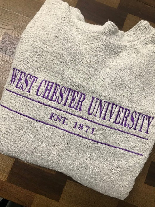 West Chester University Woolly Threads Natural Pullover