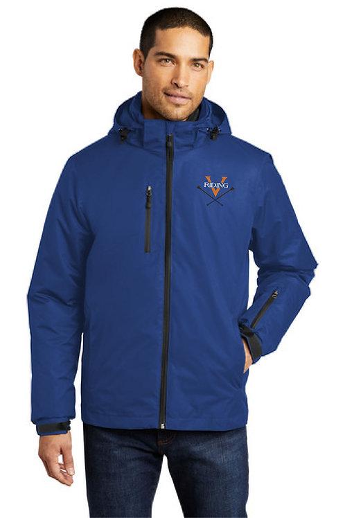 UVA  Riding Team Port Authority® Men's Vortex Waterproof 3-in-1 Jacket