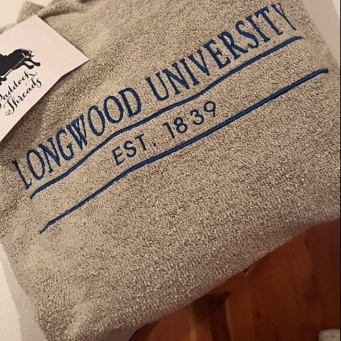 Longwood University Woolly Threads Natural Pullover