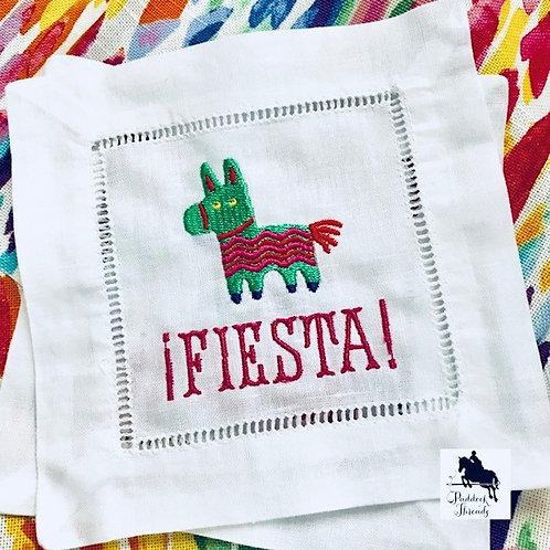 Fiesta Donkey Pinata Cocktail Napkins