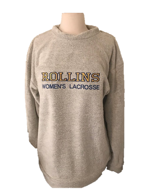 Rollins Women's Lacrosse Custom Embroidered Woolly