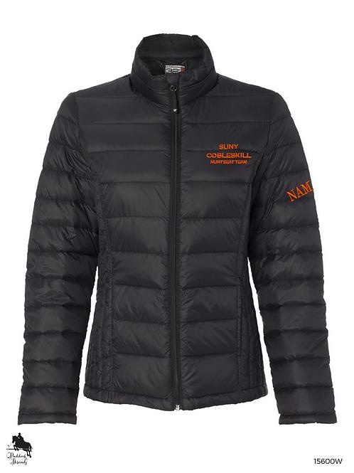 SUNY Cobleskill Hunt Seat Team Ladies Puffy Jacket