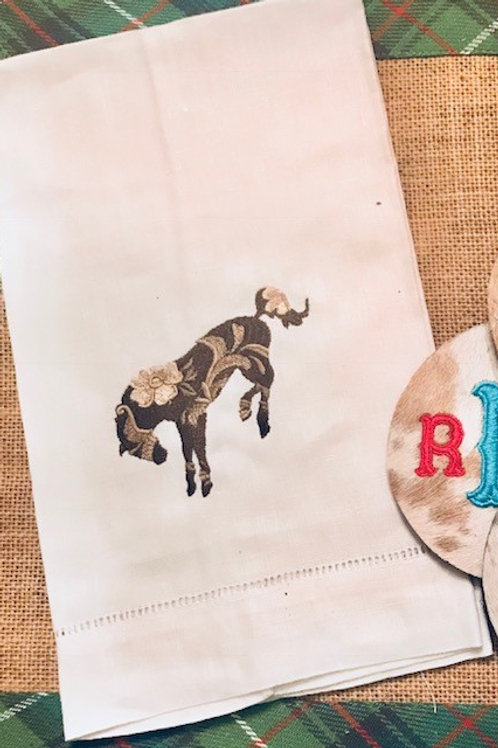 Bucking Bronco Towel