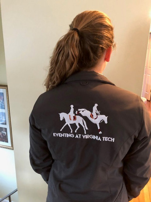Eventing at Virginia Tech Ladies Soft Shell Jacket