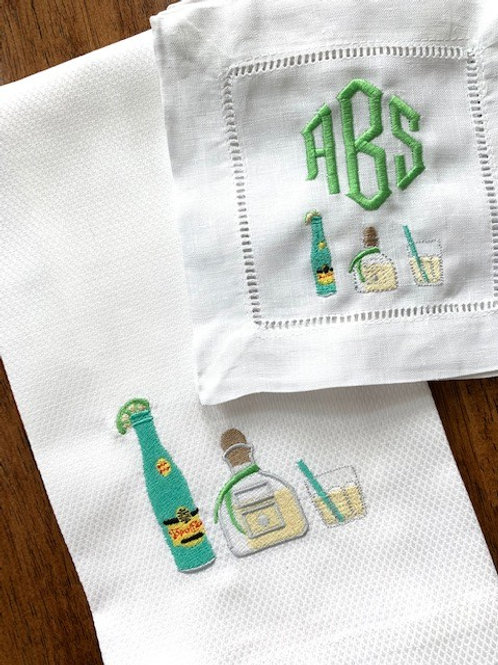 Ranch Water Embroidered Linens