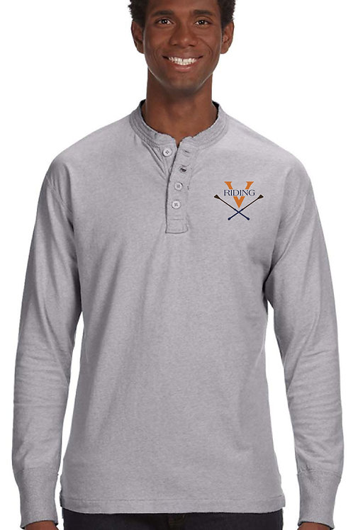 UVA Riding Long Sleeved Henley
