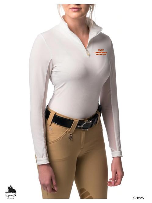 SUNY Cobleskill Hunt Seat Team Ladies Kastel Denmark Sun Shirt