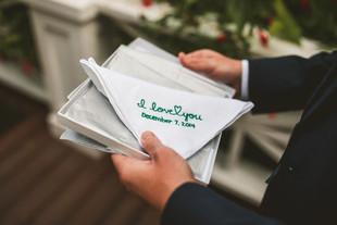 Handwritten Handkerchief