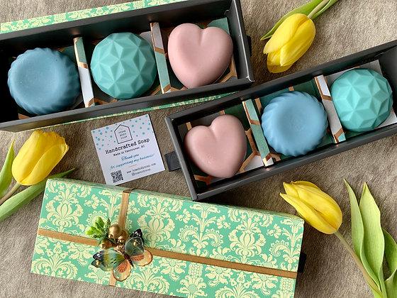 Gemsoap (3 soap set in a gift box)