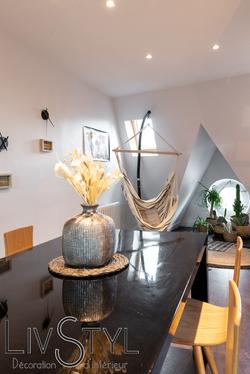 Aménagement et décoration d'un coin détente et cocooning