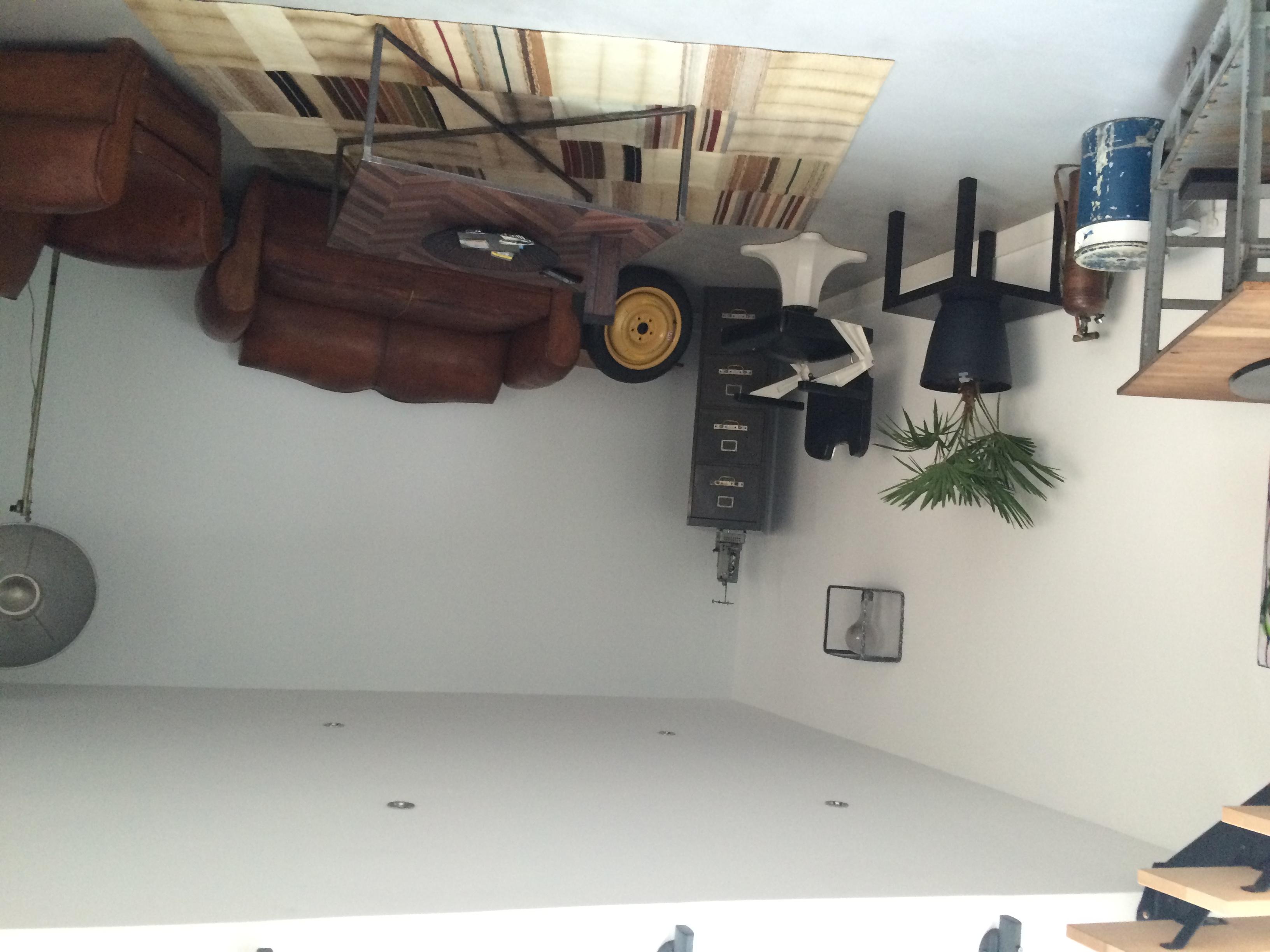 Salon d'origine, avant passage de la décoratrice d'intérieur
