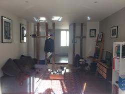 Salon avant l'intervention de la décoratrice d'intérieur