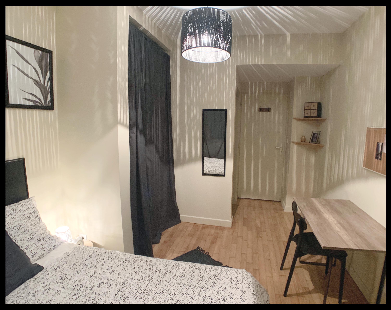 Chambre après intervention d'une designer d'intérieur