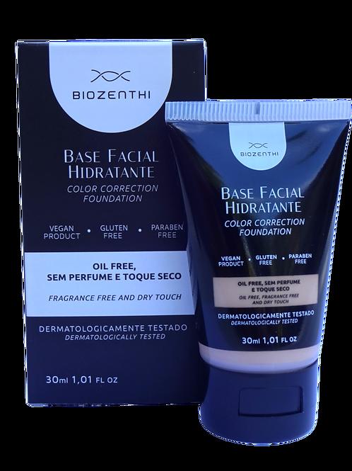 Base facial hidratante BEGE NUDE Biozenthi 30ml