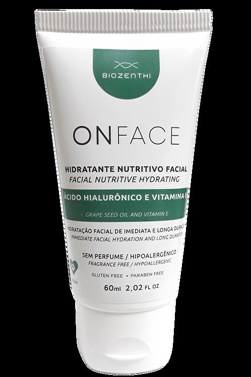 Hidratante Nutritivo Facial ONFACE 60ml
