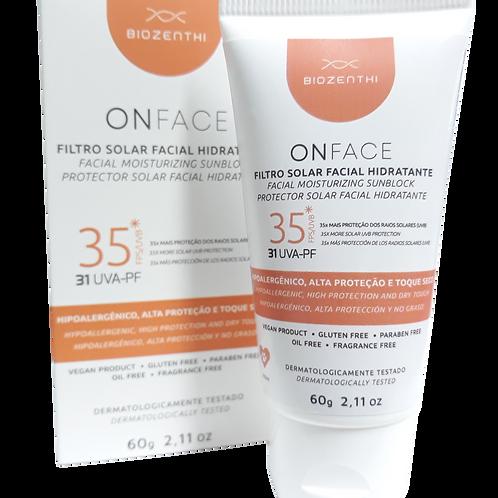 Filtro Solar Facial Hidratante ONFACE 60g