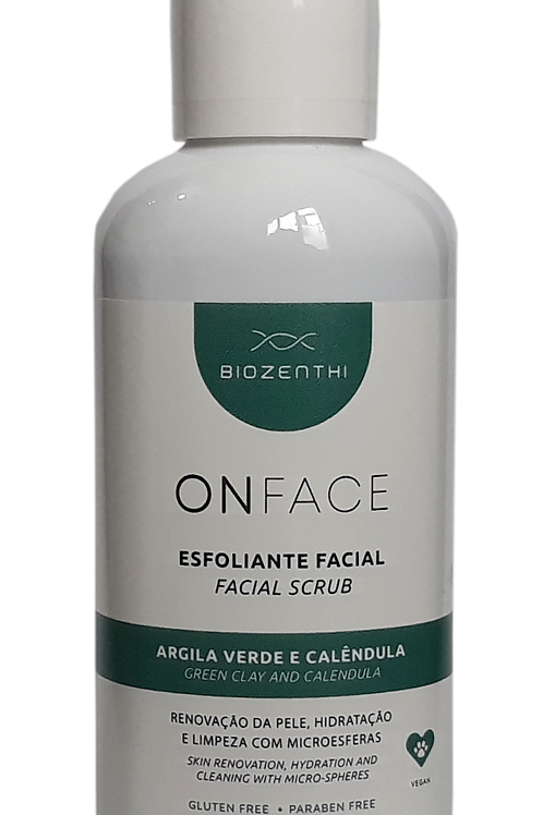 Esfoliante Facial ONFACE Biozenthi 120ml