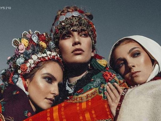 «Гуцульські жінки» для американського глянцевого журналу «Lucy's»