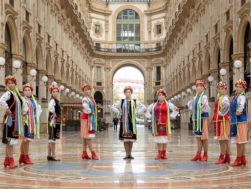 """Олена Громик та """"Folk dance"""": український народний танець в Мілані"""
