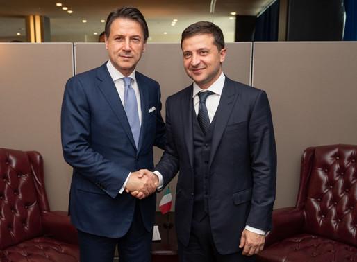 Президент України провів телефонну розмову з Прем'єр-міністром Італії