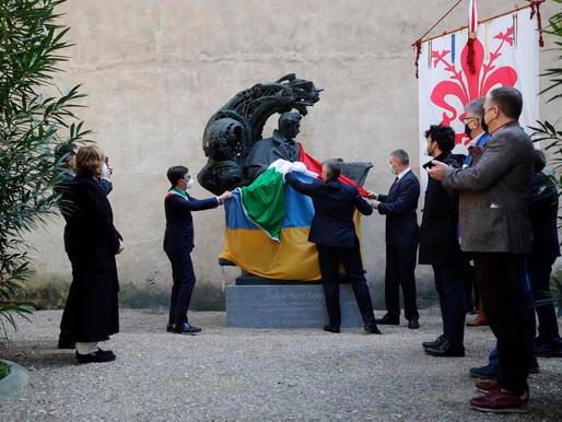 Культурна дипломатія: у Флоренції відкрили пам'ятник Тарасу Шевченку