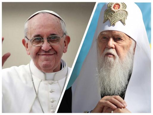 """Патріарх Філарета звернувся до Папи Франциска клопотатися перед Урядом Італії про """"Справу Марківа"""""""
