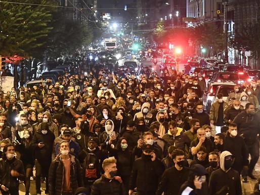 В Італії розпочались протести проти посилення урядом карантину через COVID-19