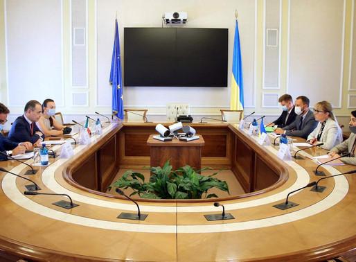 Україна та Італія поглиблюють співпрацю в енергетичній сфері