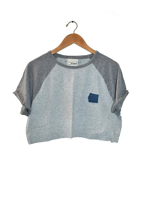 Simple Crop-Gray