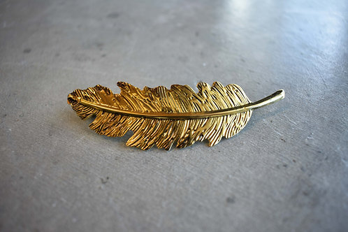 Bronze Leaf Hair Accessory