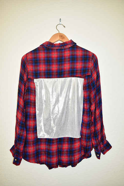 Red, white&blue Flannel