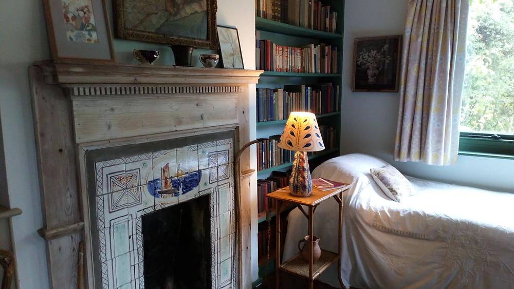 Virginia Wool's bedroom at Mink's House
