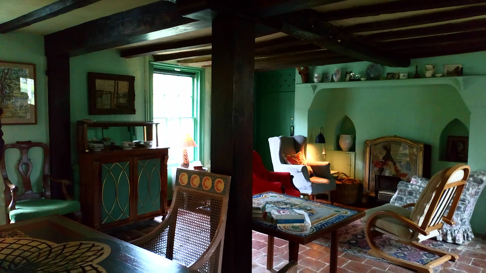 Monk's House main room