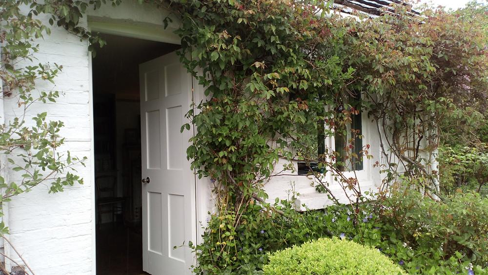 Door to Virginia Woolf's bedroom at Monk's House